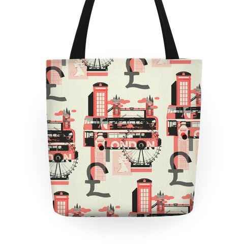 London Travel Visit Tote