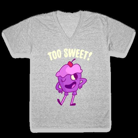 Too Sweet V-Neck Tee Shirt