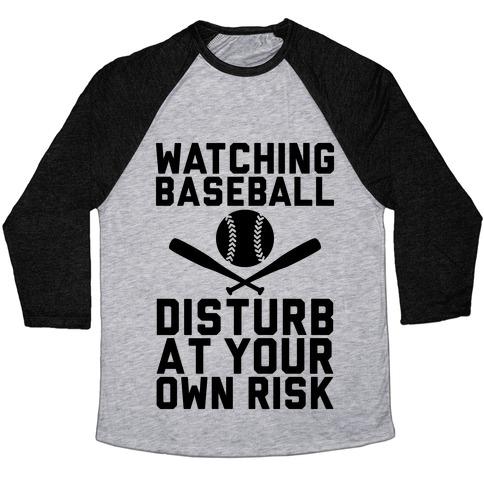 Watching Baseball Baseball Tee