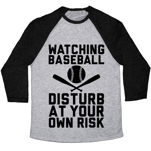 Watching Baseball Baseball Tee