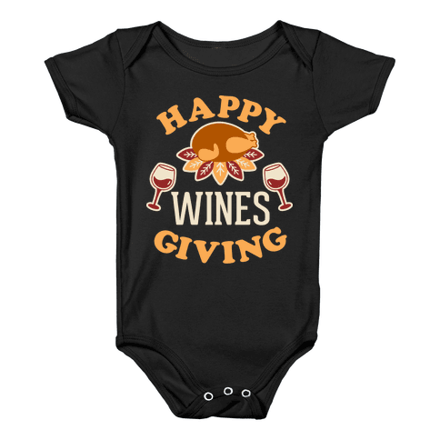 Happy Winesgiving Baby Onesy