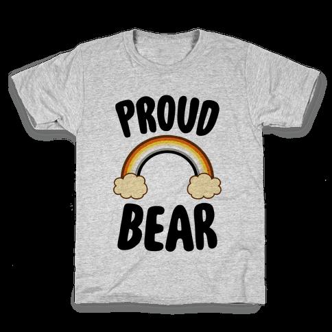 Proud Bear Kids T-Shirt