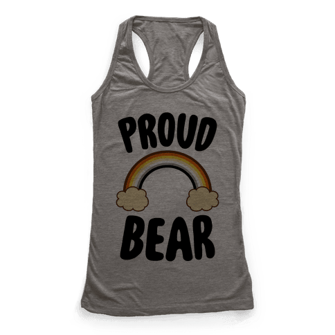 Proud Bear Racerback Tank Top