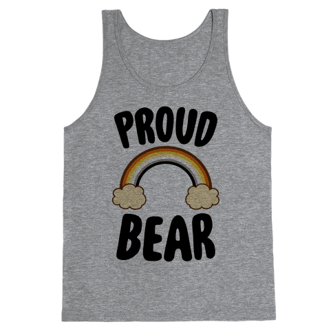 Proud Bear Tank Top