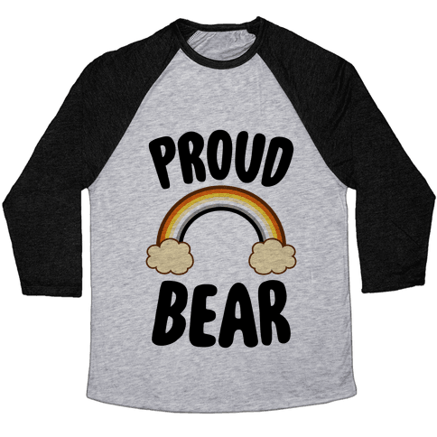 Proud Bear Baseball Tee