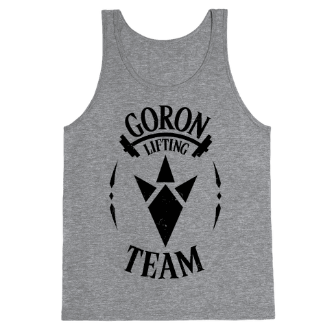 Zelda Gifts: Goron Lifting Team Tank