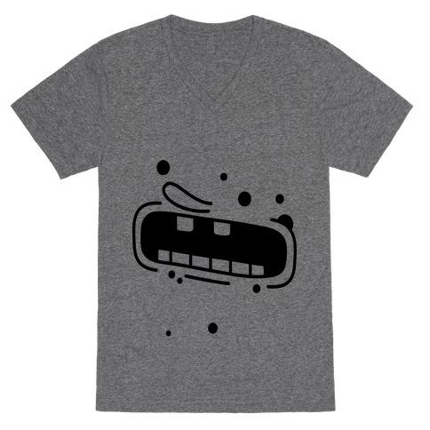 Aaaaaaaah! V-Neck Tee Shirt