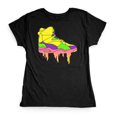 Day-Glo Dunks Womens T-Shirt