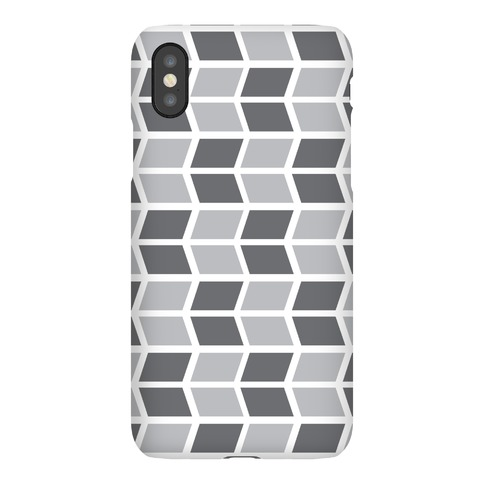 Parallelogram Pattern Case (Gray) Phone Case