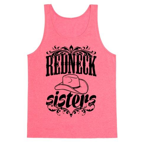 Redneck Sisters Tank Top