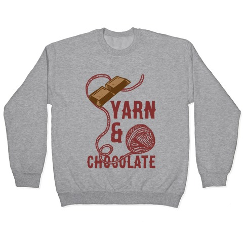 Yarn And Chocolate Pullover