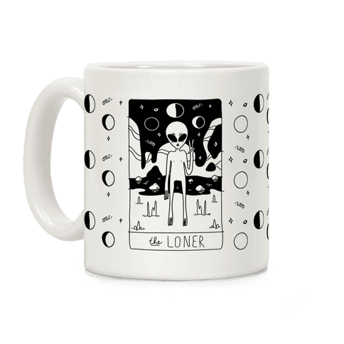 Loner Tarot Card Coffee Mug