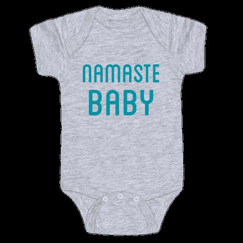 Namaste Baby Baby Onesy