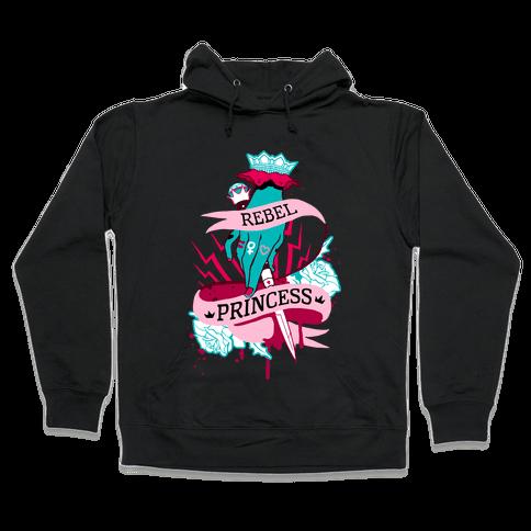 Rebel Princess Hooded Sweatshirt