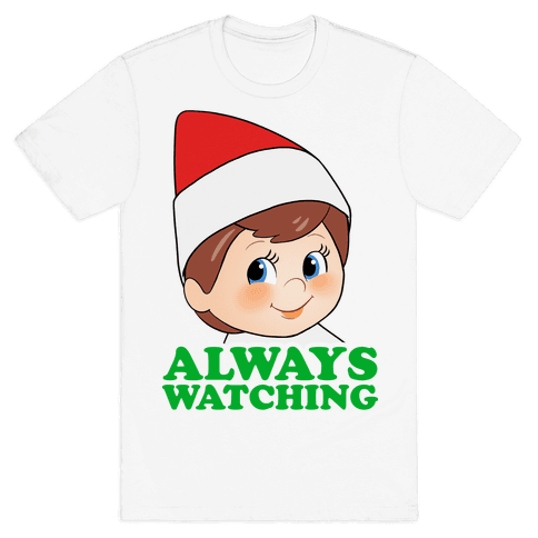 Always Watching Mens T-Shirt