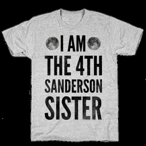 I Am The 4th Sanderson Sister Mens T-Shirt