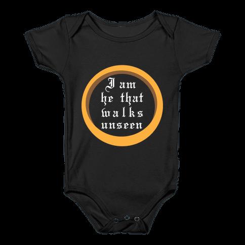 He That Walks Unseen Baby Onesy