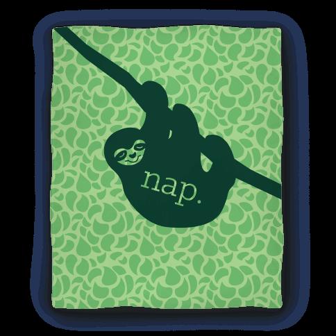 Sloth Nap Blanket Blanket