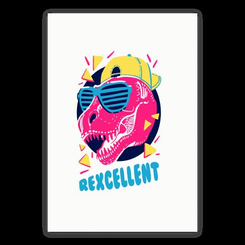 T- Rexcellent 90's Dinosaur Poster