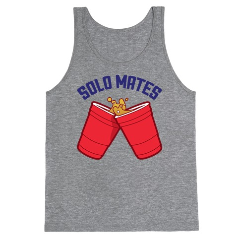 Solo Mates (Red) Tank Top