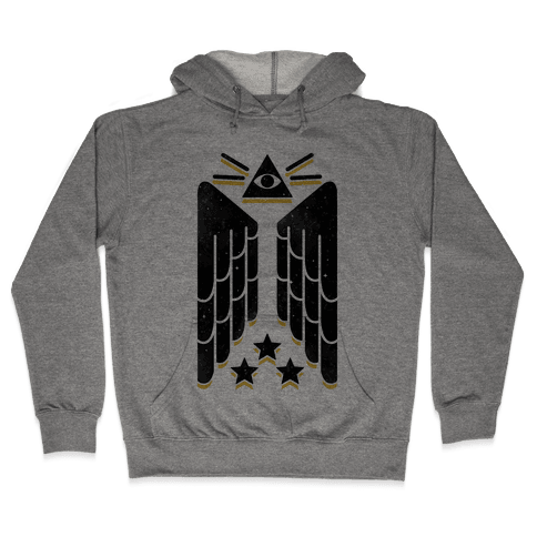 Illuminati Wings Hooded Sweatshirt