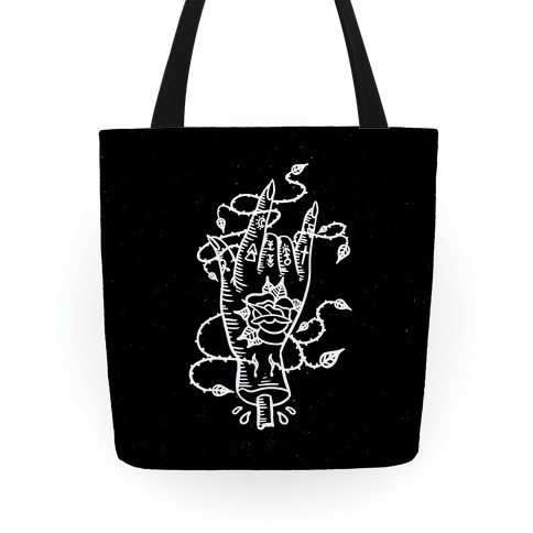 Rock On (Traditional Tattoo) Tote