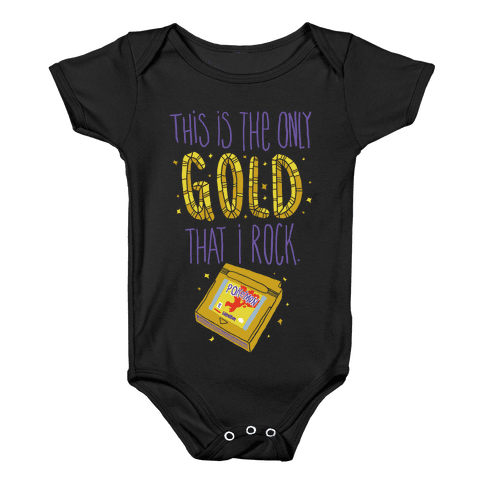 Gold Version Baby Onesy
