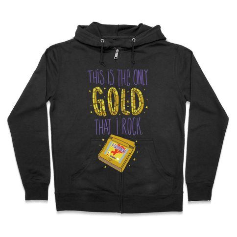 Gold Version Zip Hoodie