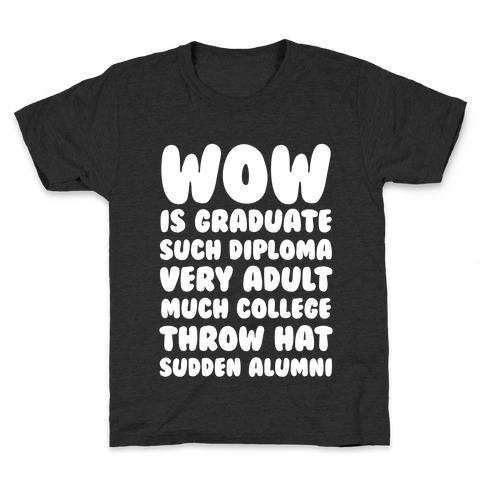 Wow Graduation Kids T-Shirt