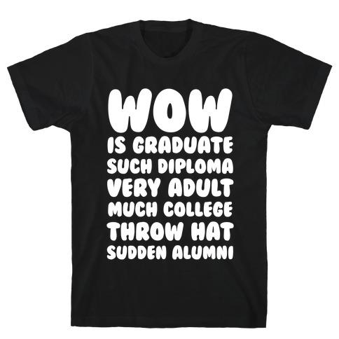 Wow Graduation T-Shirt