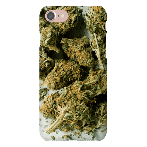 Weed Phone Case Human