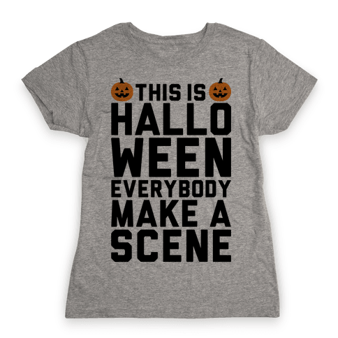 This Is Halloween Womens T-Shirt