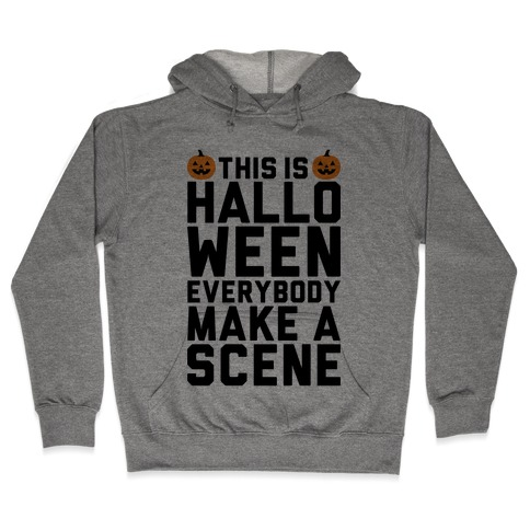 This Is Halloween Hooded Sweatshirt