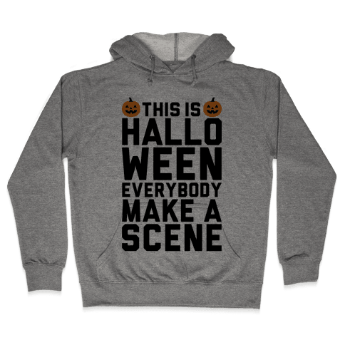 This Is Halloween Hooded Sweatshirt