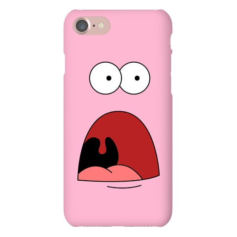 Patrick is Shocked Phone Case