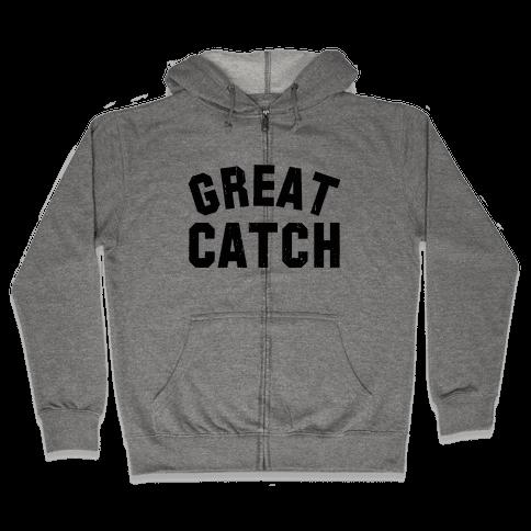 Great Catch (Tank) Zip Hoodie
