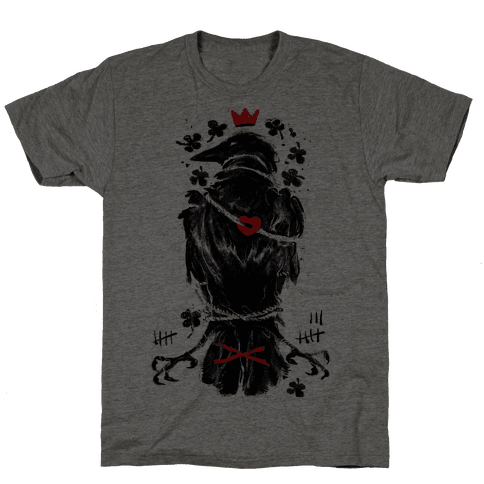 Bird In Love Mens T-Shirt