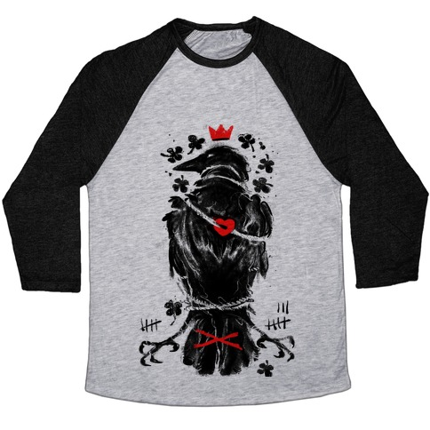 Bird In Love Baseball Tee