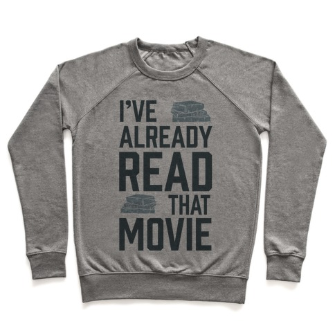I've Already Read That Movie Pullover