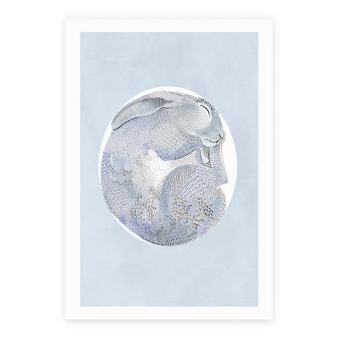 Moon Rabbit Poster