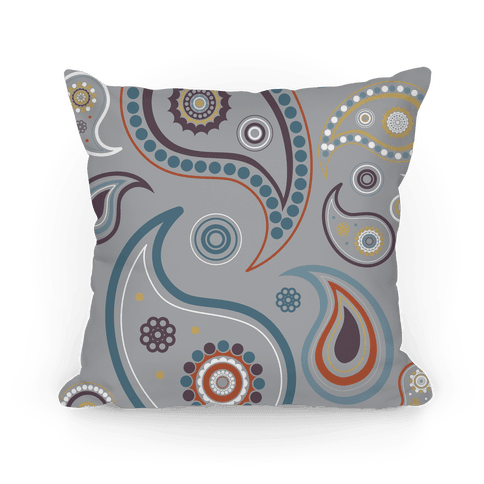 Paisley Pattern Pillow