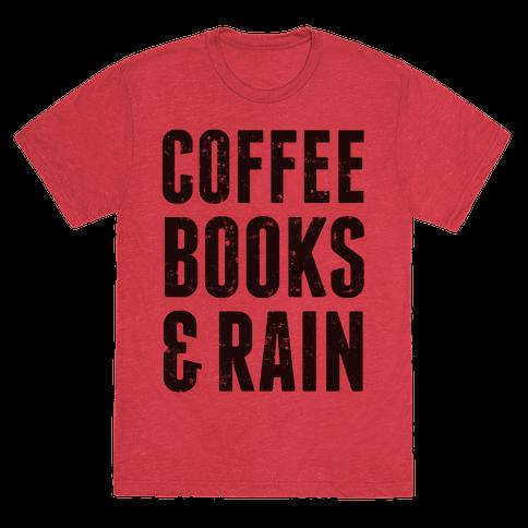 Coffee Books & Rain (Vintage)