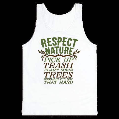 Respect Nature Tank Top