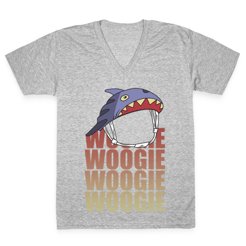 Woogie V-Neck Tee Shirt