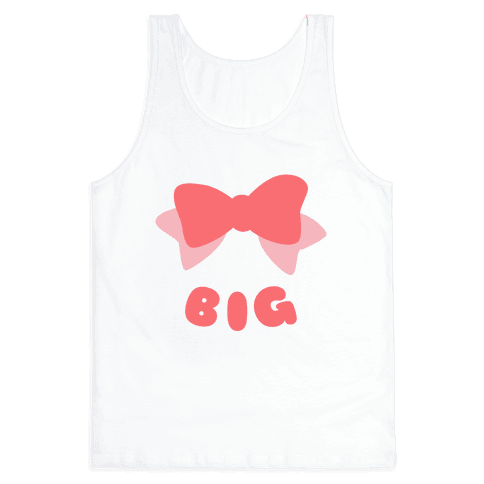 Big Bow (Pink) Tank Top