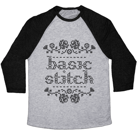 Basic Stitch Baseball Tee