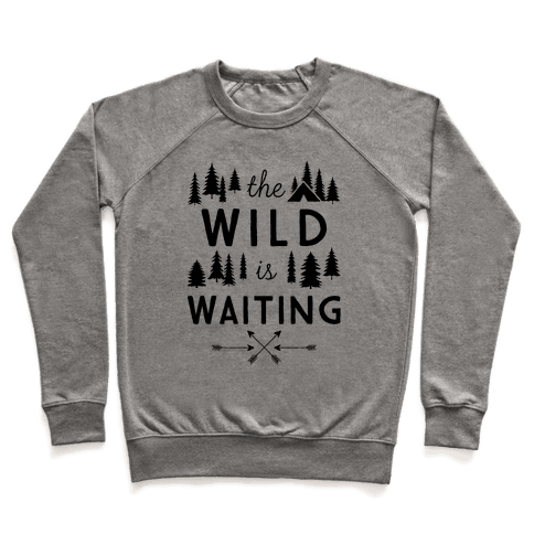 The Wild Is Waiting Pullover