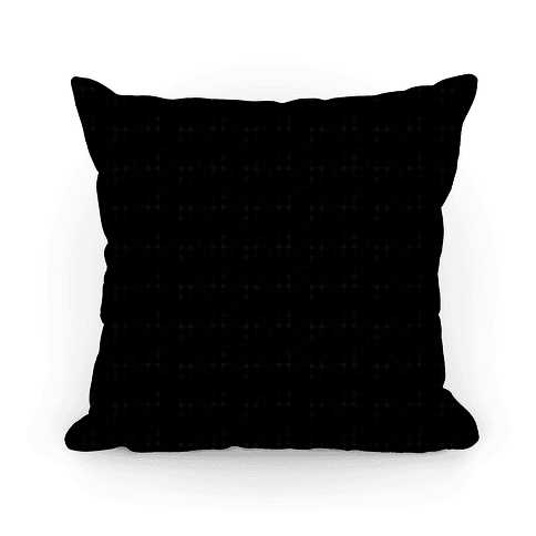 Black And White Geometric Loop Pattern