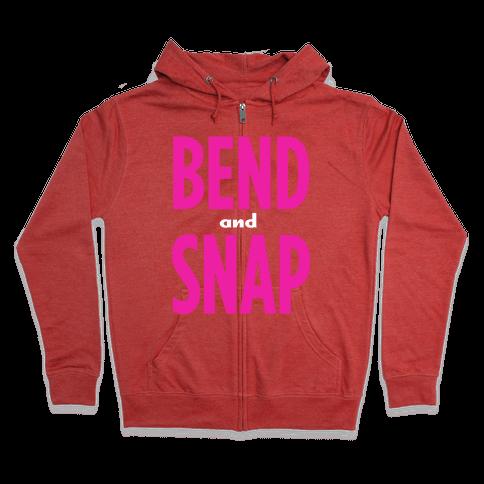 Bend and Snap Zip Hoodie