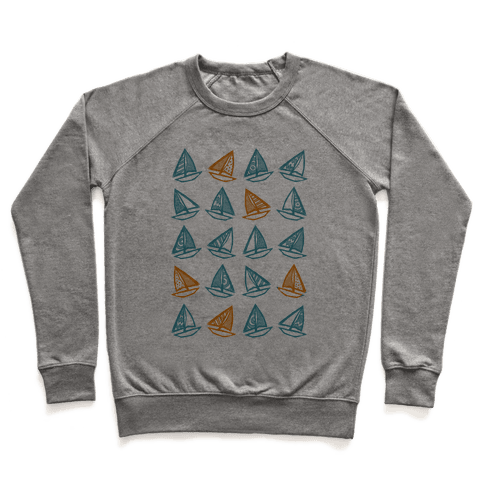 Little Sailboats Pattern Pullover